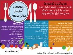 غذای کودکان و الرژی