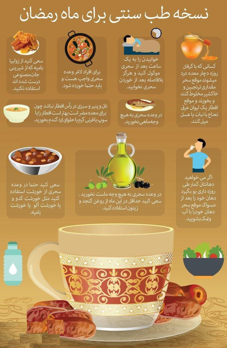 در ماه مبارک رمضان چه بخوریم؟