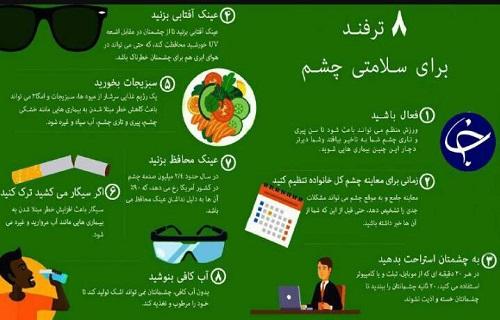 با این 8 ترفند سلامت چشمهای خود را حفظ کنید