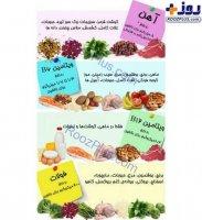 توصیه هاى مهم تغذیه اى براى رفع فقر آهن و کم خونی