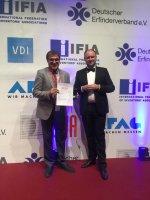 جایزه نمایشگاه نورنبرگ آلمان به محقق ایرانی رسید