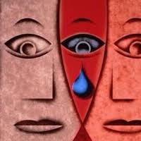 مرز غمگینی و افسردگی