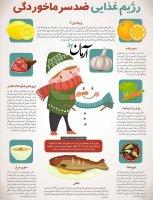 رژیم غذایی ضدسرماخوردگی